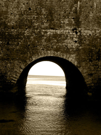 Arch Arch Bridge Architecture Bridge Bridge - Man Made Structure Built Structure Connection Nature No People Outdoors Scenics - Nature Sea Silhouette Sky Tranquil Scene Tranquility Water Waterfront