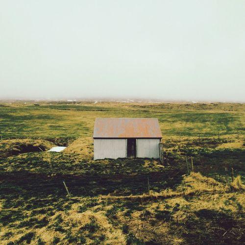 Nature Iceland Traveling House