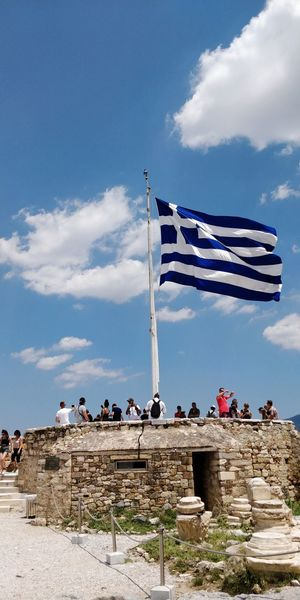 OnePlus 5t 3XSPUnity Athens, Greece Athens Flag Sky Historic Old Ruin Amphitheater Ancient The Past Civilization History