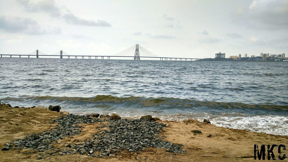 Sea🔆 Bandraworlisealink Arabiansea Kirti College Dadar Mumbai The Great Outdoor With Adobe