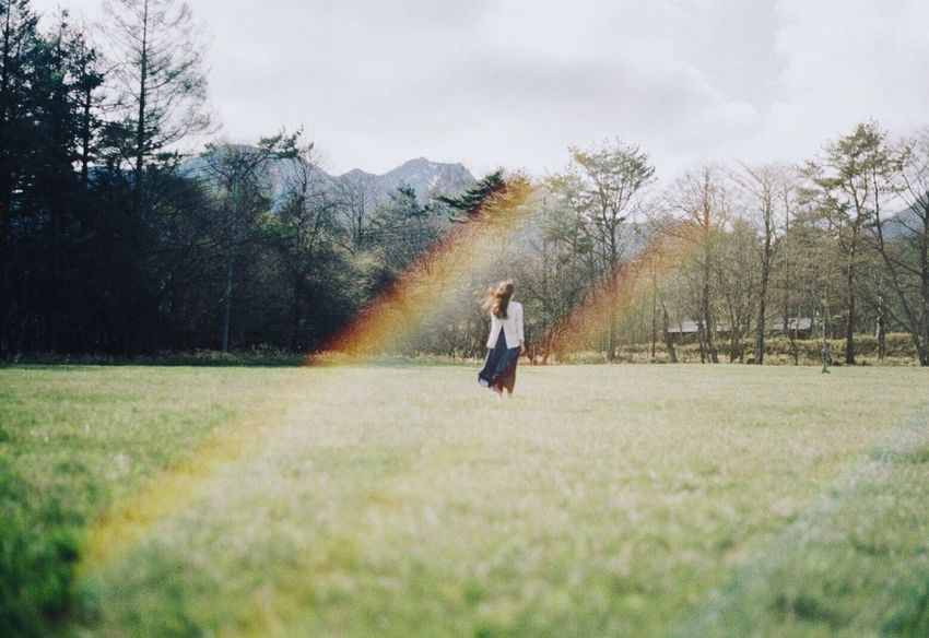 Film Film Photography Filmcamera Filmisnotdead 35mm Film Pentax Super-a Portrait Landscape Nature Lensflare EyeEm Best Shots EyeEm Nature Lover Rainbow Nature_collection Landscape_Collection フィルム フィルム写真 レンズフレア