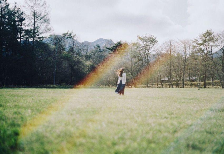 Film Film Photography Filmcamera Filmisnotdead 35mm Film Pentax Super-a Portrait Landscape Nature Lensflare EyeEm Best Shots EyeEm Nature Lover Rainbow Nature_collection Landscape_Collection フィルム フィルム写真 レンズフレア
