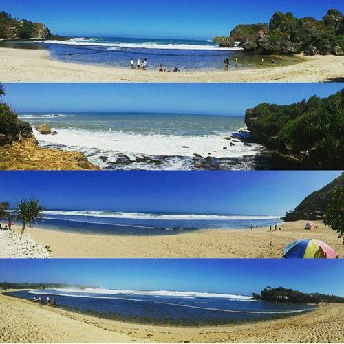 Beach Beachphotography Beaches Beaches Of Indonesia INDONESIA Jogja Gunungkidul Gunungkidulbeach Vitaminsea Vitaminseaindonesia Tourism Visit Indonesia Vacation Holiday Sunset Summer