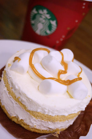 2013 Cake Cream Desserts Marshmallow Starbucks Starbucks Coffee Sweet クリーム ケーキ スターバックス マシュマロ