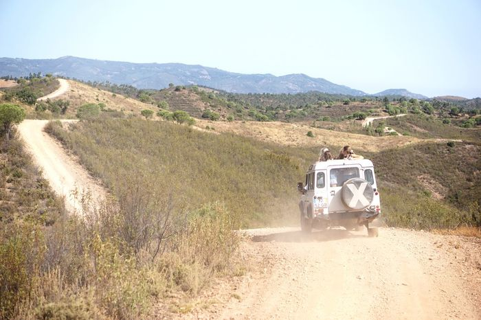 Let's go!! Portugal Land Rover Adventure Unpaved Road Road