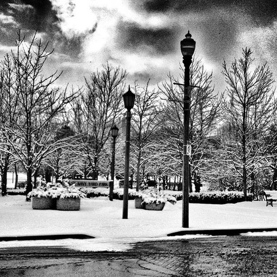 Amherstburg Mytown Snapseed Editing  Wintertime Winter Blackandwhite Blackandwhite Photography Hdr Edit