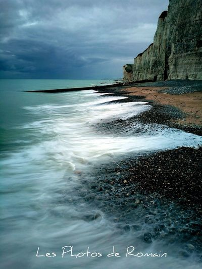 Sea Beach Horizon Over Water Water Scenics Nature Wave No People Outdoors Beauty In Nature Cloud - Sky Tranquility Sky Dieppe Normandie Normandy Sea And Sky Seine Maritime Dieppe Normandie Mer Nature EyeEm