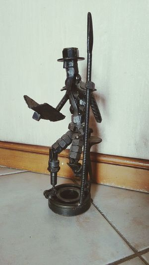 Don Quijote de la Mancha en tuercas. Quijotedelamancha Donquijotedelamancha DonQuixote Statuette Statuettes Nuts And Bolts Art Statuette EyeEm Best Shots Eyeem Statues