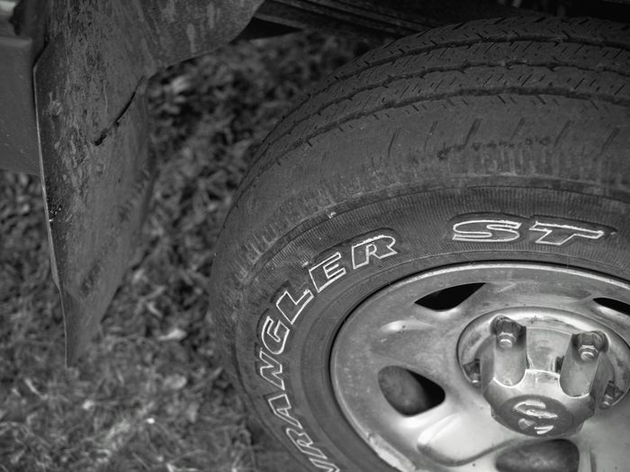Visual Journal August 2017 Western, Nebraska Camera Work Details Of My Life Everyday Lives My Truck Old Tires To Recycle Visual Journal Wheel Always Taking Photos B&w Close-up Front Yard Photography Fujifilm_xseries It's Not The Years, It's The Mileage Monochrome My Neighborhood Old Tires Photo Diary Schwarzweiß Small Town Life Small Town Stories Tire Tread Pattern Where The Rubber Meets The Road Worn Out