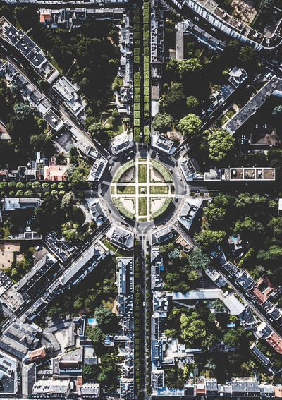 Aerial Shot Drone  Nantes Aerial View Architecture Building Building Exterior Built Structure City Cityscape Day High Angle View Nature No People Outdoors Plant Residential District Road Street Transportation Travel Destinations Tree