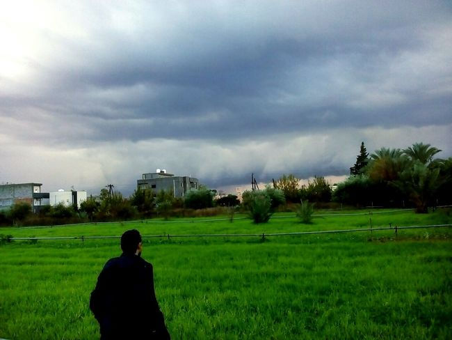 Am back Storm Storm Cloud Thats Me  Tripoli Libya