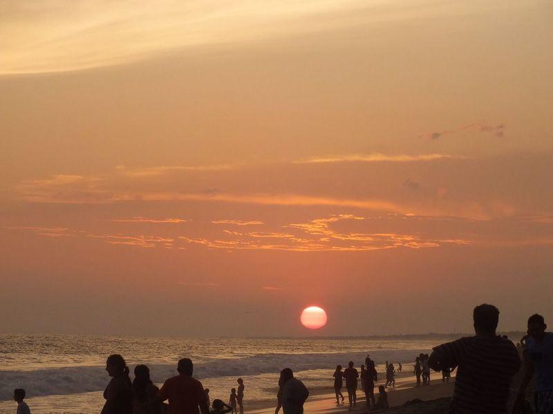 Sky Sun Sunset The Great Outdoors - 2016 EyeEm Awards Puesta Del Sol Acapulco