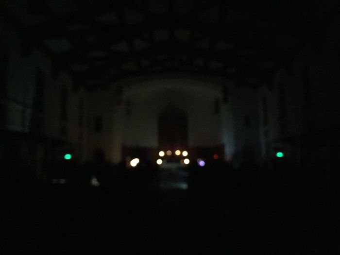 Worshiping in the dark...awesome! Power Outage Worship Prayer Church