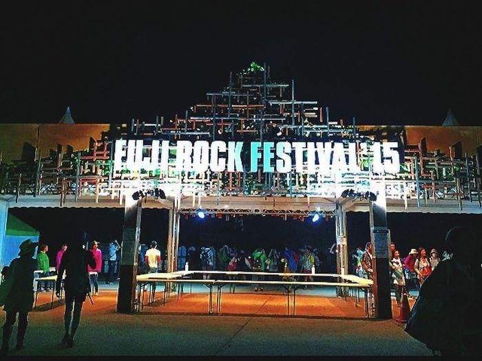 Fujirock Festival'15 Hi! Hello World Enjoying Life Hangover