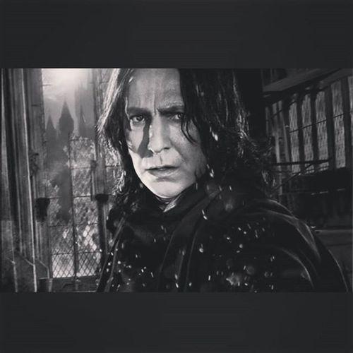 R.I.P😭😭 Alanrickman Severussnape Harrypotter Professor 2016/01/14