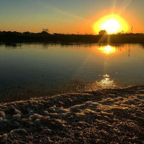 Rio Cuiabá em Porto Jofre-MT Foto: @photofrata _________________________________ RioCuiabá PortoJofre PantanalMt Pantanal CentroOeste Bresil  Brasil Brazilien Brazilien Southamerica America World Travel Sunset MtcomVc VejaMatoGrosso Nature Magnifique BR Matogrosso MatoGrosso_Brasil