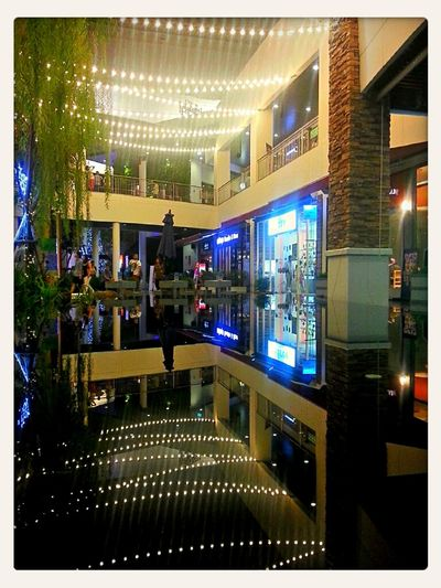 Reflection Courtyard  Plaza Water Reflections Nightlights Shopping Mall Eye4photography  Nightcall Eye4enchanting The Press - Work Mega Bangna