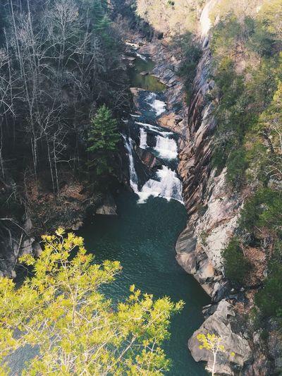 Waterfall Tallulahfalls Tallulah Gorge