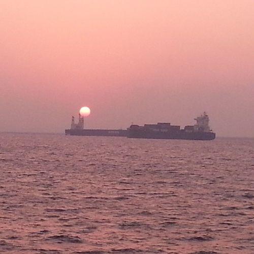 Günbatımı Marmara çileligün