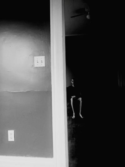 half a room. half of you. A New Beginning Dark Moody Blackandwhite New Apartment Empty Places Architecture Built Structure