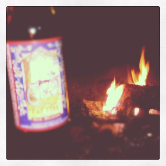 Fire and a Fattire GoodTimes