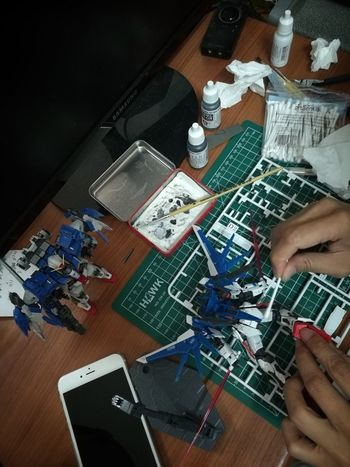 Hobby Gundam Gunpla Colors Washing