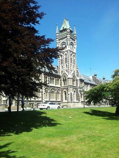 Dunedin New Zealand Clock Tower Otago University