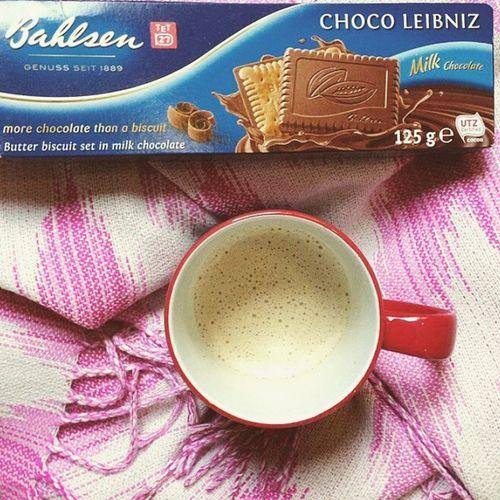 Cafee  Biscuits Chocolat Happy Love Tranquille Derniere Samedi2014 Athome