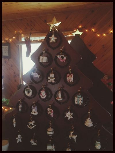 Christmas Tree Porcelain Ornaments