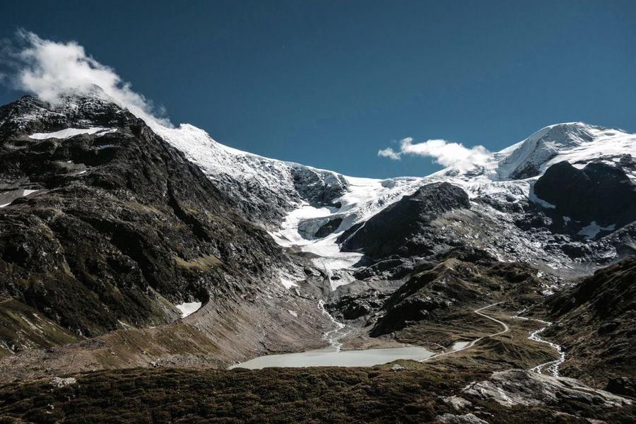 Alps Glacier Gwächtenhorn Landscape Majestic Mountain Mountain Range Scenics Snowcapped Mountain Sustenhorn Sustenpass Tranquility Winter
