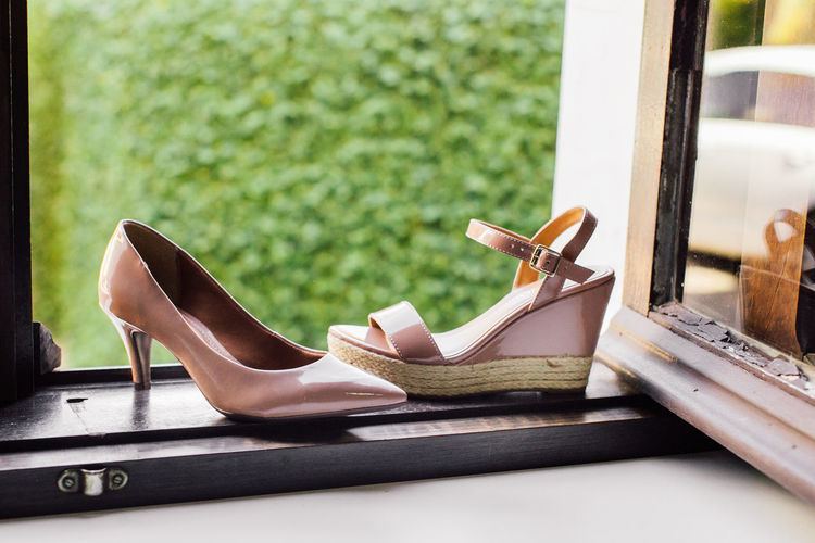 Absence Book Chair Close-up Day Fashion Focus On Foreground High Heels Indoors  Leather No People Pair Personal Accessory Publication Sandal Seat Shoe Stiletto Still Life Table Wood - Material