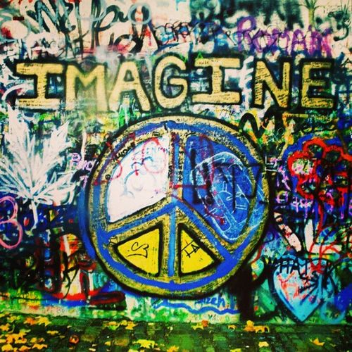 Imagine Beatles Lennon