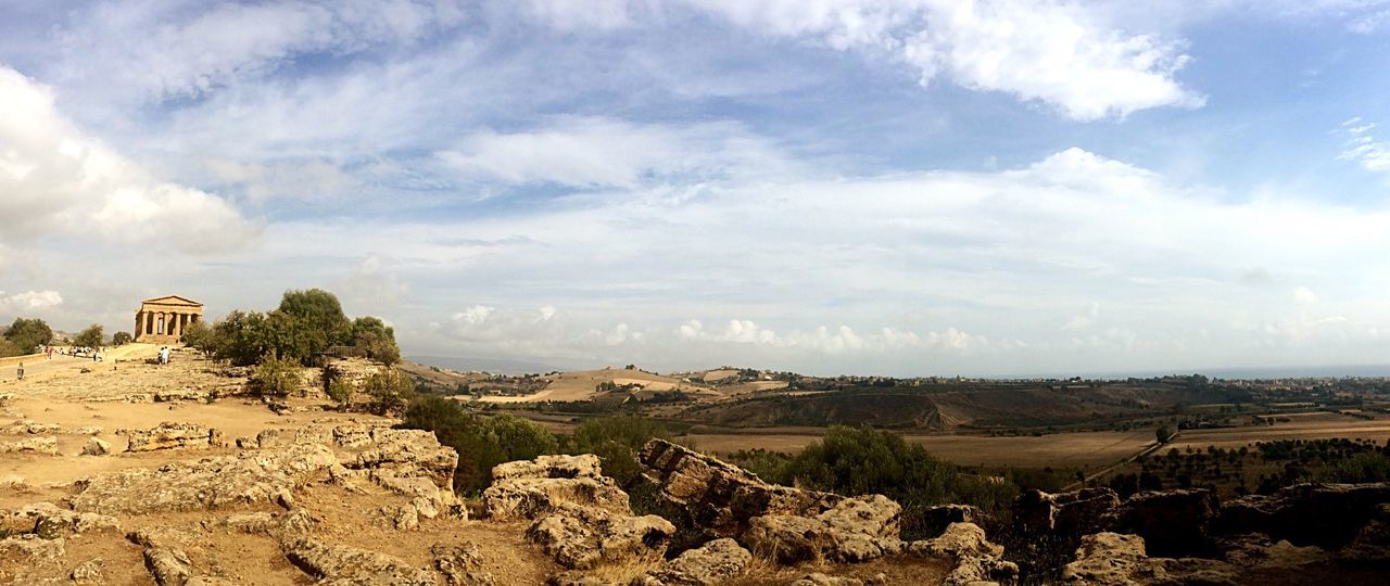 Beautiful Place Temple View Landscape_Collection Tranquility Past Time Antique Travel Travel Destinations Sicily Agrigento No People