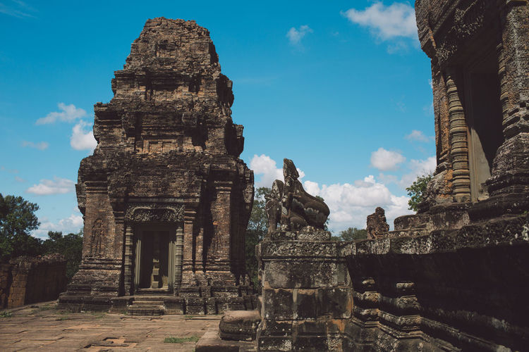 Siem Reap Cambodia Angkor Architecture Built Structure History Ancient The Past Religion Belief Place Of Worship Travel Travel Destinations Spirituality Sky Tourism Building Old Ruin Ancient Civilization Nature Building Exterior Old No People Outdoors Archaeology Ruined