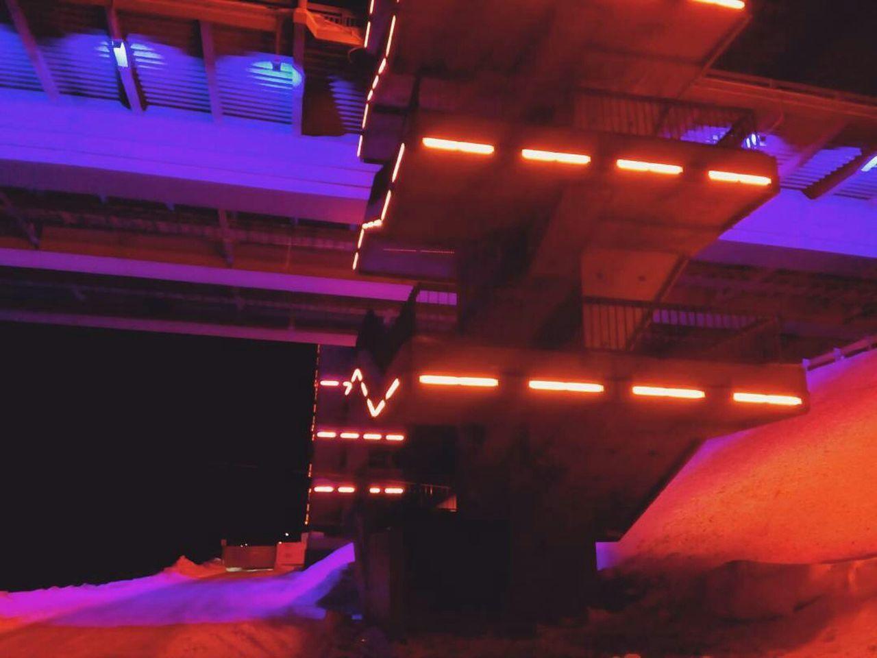 illuminated, lighting equipment, night, indoors, neon, architecture, no people
