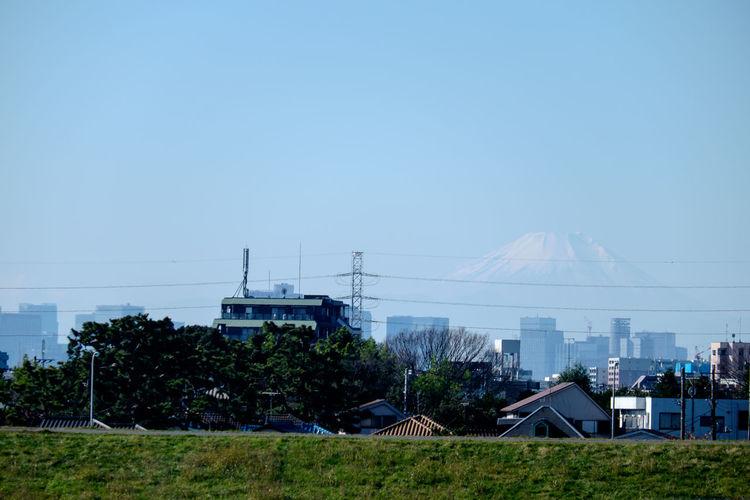千葉県側江戸川河川敷から富士山 Clear Sky Fujifilm Fujifilm X-E2 Fujifilm_xseries Fujiyama Japan Japan Photography Mountains Mt.Fuji Xc50230 富士山 山