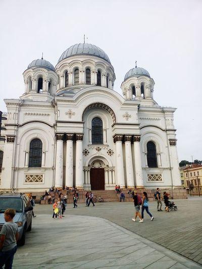 Kaunas Lithuania Soboras Travel