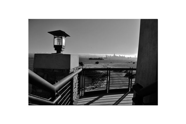 Observation Tower 12 Middle Harbor Port Of Oakland,Ca. Late Afternoon Shadows Observation Tower Deck Tower Lamp Handrails San Francisco Skyline Silhouettes Bay Bridge Bnw_friday_eyeemchallenge Freighter San Francisco Bay Shoreline Park Park Walkway Monochrome Lovers Monochrome Black & White Black & White Photography Black And White Black And White Collection  Architecture Afternoon Shadows Landscape_Collection Landscape_photography Scenic Lookout Tower Stairway