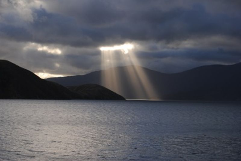 Darkness And Light New Zealand Marlborough Sounds Not Edited