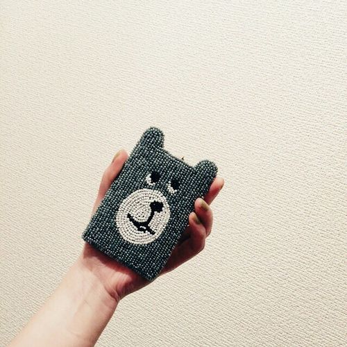 Birthday Present Thankyou 定期入れ Check This Out Cute Taking Photos Friends his name is Gugu.