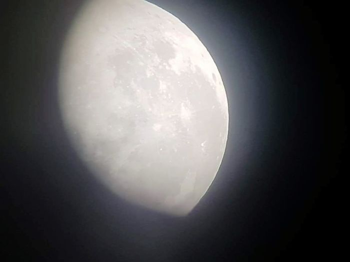 The moon in the