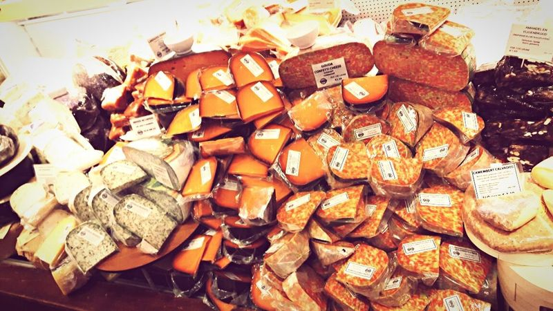 Cheesy Foodlover Time To Eat City Travel Destinations Travel Eyeem Food  EyeEm Gallery Netherlands Gouda Cheese Market Cheese Food Food And Drink For Sale Market Indoors  Ready-to-eat Day Sweet Food Freshness Variation No People
