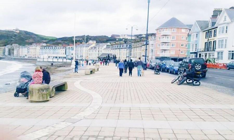 Streetphotography Landscape People TownSlow Life Peace Aberystwyth Wales Uk 2014