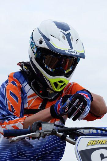 Race Crossmotor EyeEm Selects Sport Competition Helmet Headwear Sky Competitive Sport Sports Helmet Outdoors Sports Equipment Sports Race Day Professional Sport