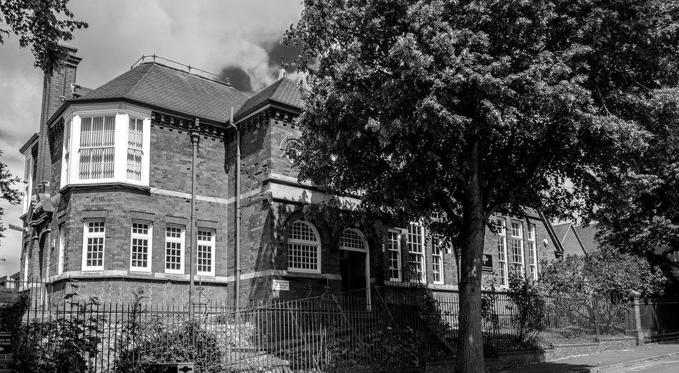 Freeman's Endowed (C of E) Junior School, Westfield Road, Wellingborough, Northamptonshire Architecture Monochrome Black And White FUJIFILM X-T10 Wellingborough Northamptonshire Fujifilmxt1 School Architecture