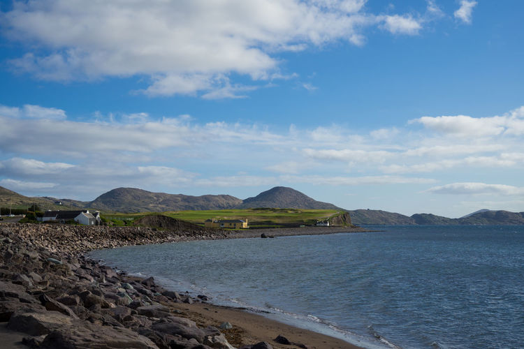 Beauty In Nature Cloud - Sky Colorful Day Dingle Dingle Peninsula Ireland Kerry Mountain Nature No People Outdoors Ring Of Kerry Scenics Sea Sky Tranquil Scene Tranquility Water Wild Atlantic Way Going Remote