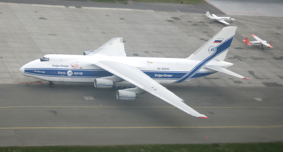 Antonnov An-225 in Billund airport A225 An-225 Antonov Antonov 225 Antonov 225 Mriya Airplane Antonov An-225 Air Vehicle Airplane Airport Runway Antonov225 Close-up Day Fighter Plane High Angle View Mode Of Transport No People Outdoors Transportation