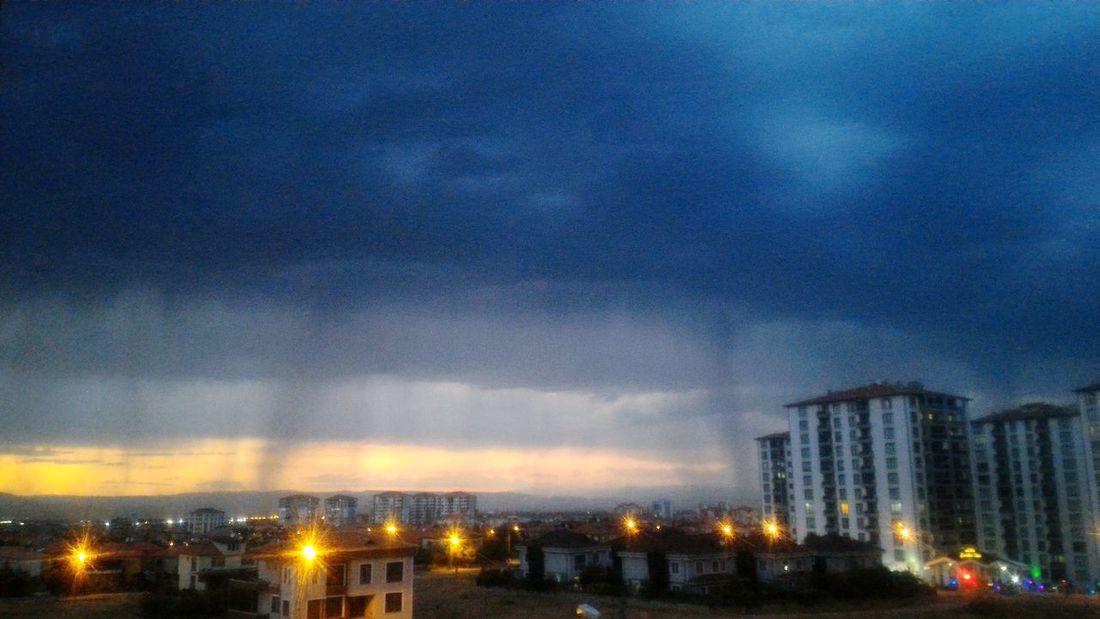 Cloud Tower Sky City Malatya Türkiye Bulutlar Binalar Gokyuzu Sehir