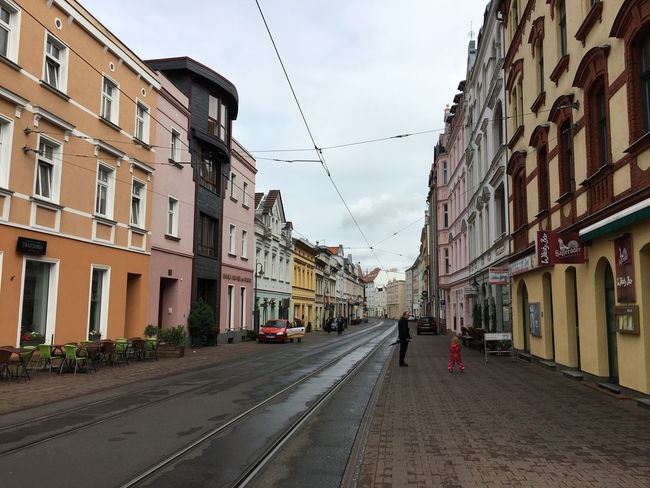 Building Exterior Architecture Street Sky City Residential Building Road Outdoors Cloudy Cloud - Sky Clouds Rainly Rainly Day Germany