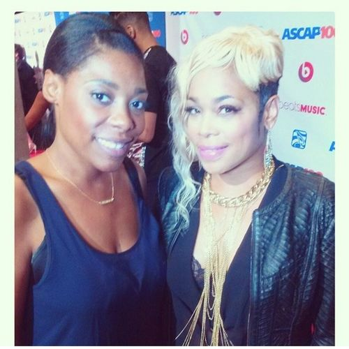 W/ this dope women in my corner I can't lose!!!!!!! And she got me like no other!!!!! Everybody be talking what sound good....she makes it look good with that action !!!!!!! @mslindseypaige @mslindseypaige @mslindseypaige and s.o to the one and only T Boz!!!!! LiveItBrands